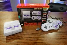 Super Nintendo Entertainment System SNES Classic Edition 21 Games Included