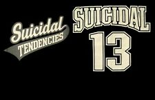 "SUICIDAL TENDENCIES cd lgo ""13"" Official SHIRT Size SMALL New mike muir"