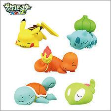 TOMY TAKARA Pokemon XYZ Goodnight Sleeping Pikachu Friend Charm Figure Toy Anime