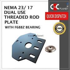 Uso dual paso a paso Nema 17 23 Placa de varilla roscada para V-Ranura Buey Cnc Router Eje Z