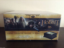 The Hobbit - Trilogy (Limited Edition Wooden Box - Blu-ray 3D/2D+DVD) BRAND NEW