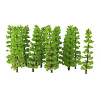 20pcs 9cm Fir Trees Model Train Railway Forest Street Scenery Layout HO N