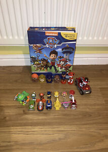 Paw patrol mini figures bundle - 6 vehicles - Skye - Chase - Marshall - Rocky