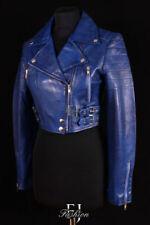 Manteaux et vestes bleu en cuir pour femme taille 40