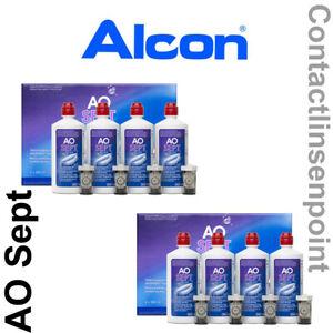 1 - 6 Flaschen  AoSept Plus a 90ml, 4 - 8 Flaschen a 360ml Pflegemittel Peroxid