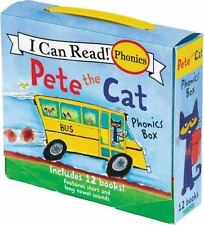 PETE THE CAT PHONICS BOX - DEAN, JAMES - NEW PAPERBACK BOOK