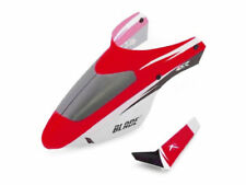 E-Flite Blade mSR Complete Red Canopy w/ Vertical Fin