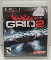 Playstation 3 - GRID 2 - PS3 Game - Complete TESTED Working! CIB