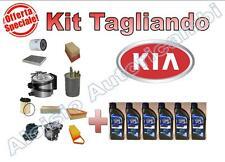KIT TAGLIANDO KIA SPORTAGE 1.7 CRDI 85KW DAL 2011->* OLIO ERG ONE 5W30 + FILTRI