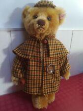 Rare Ours Steiff Sherlock Holmes - Edition limitée -   EAN 655517