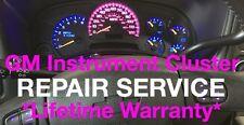 2003-2006 GMC Sierra Speedometer Instrument Cluster Gauge REPAIR SERVICE +LED