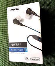 BOSE QC20 QuietComfort 20 Noise Cancelling iOS NEW SEALED 100% Genuine