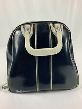 Vintage Gladding Bowling Ball Bag Dark Blue