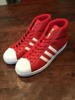 Adidas Pro Model Shoes Sneakers New BY3726 Red Size 11