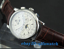 1654 Ossna 42mm Silver case White dial Alternately Automatic Movement Men Watch