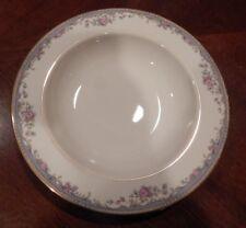 "Lenox ""Southern Vista"" Pattern Rim Soup/Pasta Bowl (S) Made In Usa 9 1/8"" Great!"