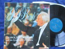 Js Bach transcrito para orquesta conducta por Leopold Stokowski MFP 2062 Vinilo Lp