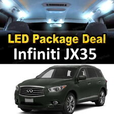 11x White LED Lights Interior Package Deal For 2013 Infiniti JX35