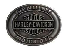 Harley-Davidson Men's Belt Buckle Genuine Motor Oil Bar & Shield HDMBU10662