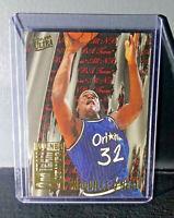 1995-96 Shaquille O'Neal Fleer Ultra All-NBA Team #8 Basketball Card