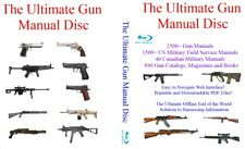 The Ultimate Gun Manual Disc - 4000+ Firearm and Us Armed Service Field Manuals