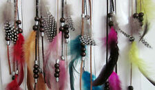 Hair Feather 14 inch Extension. Clip in. Choice of Colour. UK