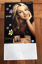 BRITNEY SPEARS GOT MILK OOPS I DID IT AGAIN DOUBLE SIDED POSTER 2000
