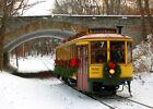 Minneapolis Como-Harriet Streetcar Christmas  Winter Holidays Greeting Card Set