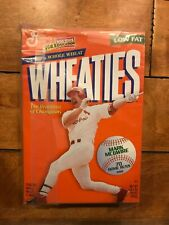 Vintage 1998 Wheaties Mark McGwire 70 Home Run Full Cereal Box