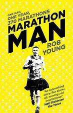 Marathon Man: One Man, One Year, 370 Marathons, Young, Rob, Very Good condition,