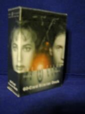 X Files CCG Trading Card Game STARTER DECK (60 cards) factory sealed