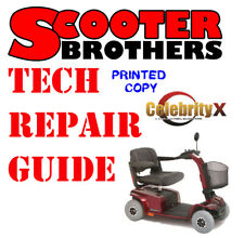 ULTIMATE SERVICE GUIDE For Pride CELEBRITY X Scooter Technical Repair PRINTED