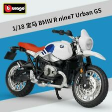 Bburago 1:18 BMW R nineT Urban GS Motorcycle Bike Model Toy