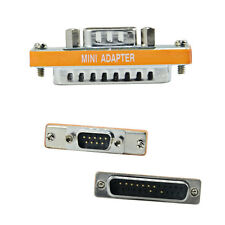 Rs232 9 Pin Male To 25 Pin Male Null Modem Serial Converter Adapter Connector