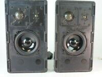 Braun L 530F Speaker 35/70 Watt 4 Ohm Flachboxen Lautsprecher 3 Weg Q1-337