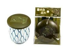 1x Japanese Plastic Cup Lid Cover Green Dragonfly #4385 S-3164