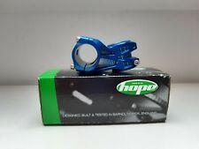 HOPE AM MOUNTAIN BIKE STEM. ST2050OB 20DEG 50mm OS BLUE. BOXED.