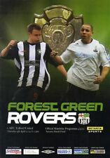 2009 SETANTA SHIELD FINAL - FOREST GREEN v AFC TELFORD