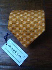 Vineyard Vines Orange 100% Silk RMK Regions Morgan Keegan Select Custom Tie