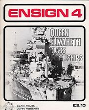 Ensign 4 Queen Elizabeth class (Bivouac 1975 1st) Alan Raven & John Roberts