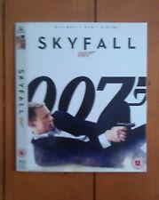 Daniel Craig's James Bond Skyfall Blu-Ray Slipcover/Slipcase Only (NO FILM) NEW