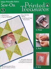 Printed Treasures Fabric Sheets - 5 Pack