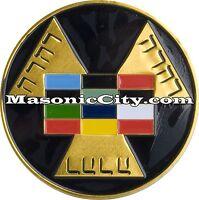 A-329 Royal Arch Masonic Auto Emblem FreeMasonry Car Lodge Mason Freemason PHA