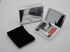 Dior Blue-Tie Eyeshadow & Lip Gloss Smoky Eyes & Nude Lips 001 Smoking Blue