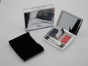 Dior Blue-Tie Smoky Eyes & Nude Lips 001 Smoking Blue New in Damaged Box