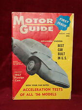 MOTOR GUIDE August 1956 FIRST ISSUE