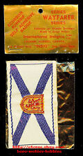 LMH Patch Woven Badge NOVA SCOTIA FLAG  Canadian Crest CANADA Woven Badge 3-1/2""