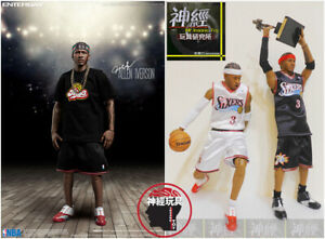 ENTERBAY ALLEN IVERSON 1/6 ACTION FIGURE 2 PACK RM-1060 UPGRADED RE-EDITION AI