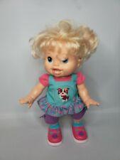 Hasbro Baby Alive Doll Wanna Walk Blonde Hair Walking Talking 2011 Interactive