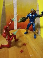 "Marvel Legends Hasbro 6"" Iron Man & Deaths-Head action figure lot Avengers"